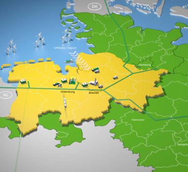 $1.5bn plans unveiled to integrate hydrogen into the northwest German coastline