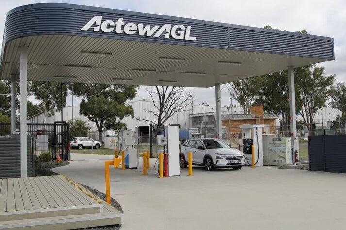 Australia's first public hydrogen station now open