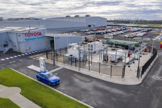 Toyota unveils new hydrogen facility in Victoria that will pave the way for uptake of Mirai's