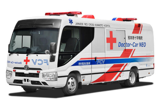 Hydrogen-powered mobile clinic set to revolutionise health sector