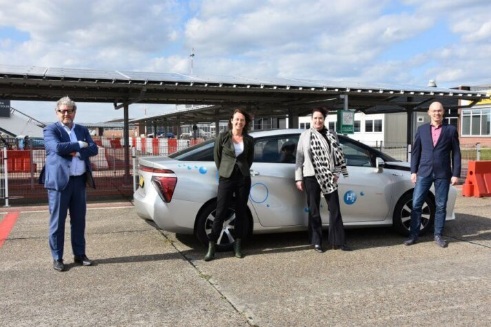 Groningen Airport aims to be the first hydrogen valley airport