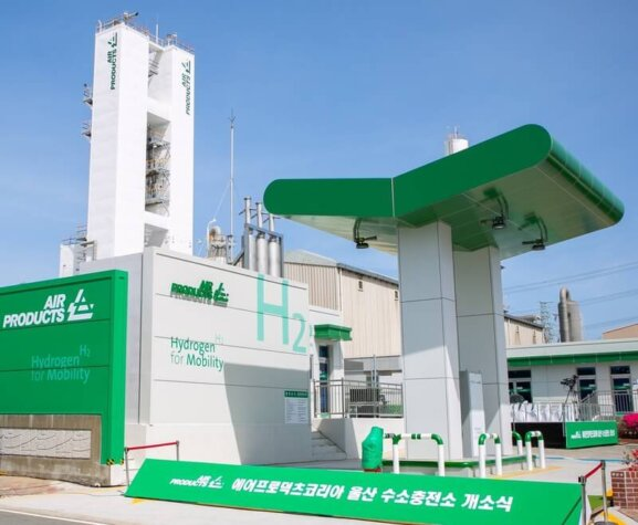 Air Products opens new hydrogen station in South Korea