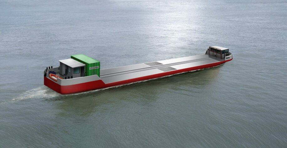 Flagships: Hydrogen-powered commercial cargo vessel set for river Seine in Paris