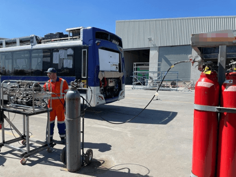 Inaugural hydrogen fuelling set to revolutionise New Zealand's transportation sector