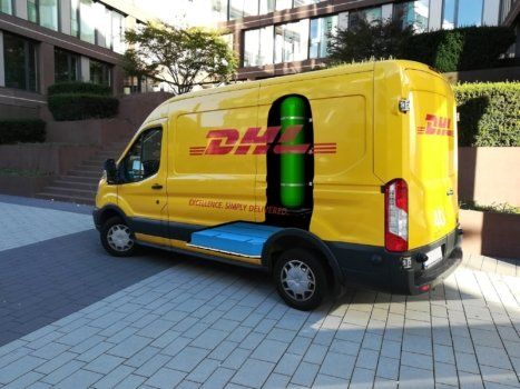 DHL and StreetScooter develop H2 Panel Van