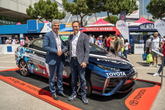 Toyota and Eni announce hydrogen collaboration