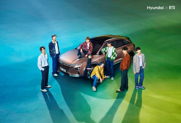 BTS travel in Hyundai's hydrogen-powered NEXO in new Earth Day 2021 video