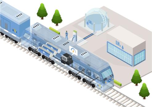 Korea Railroad Research Institute developing liquid hydrogen locomotive