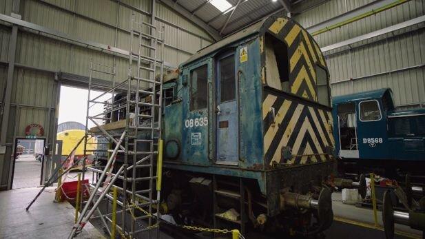 HydroShunter: Diesel locomotive set to be converted to hydrogen power