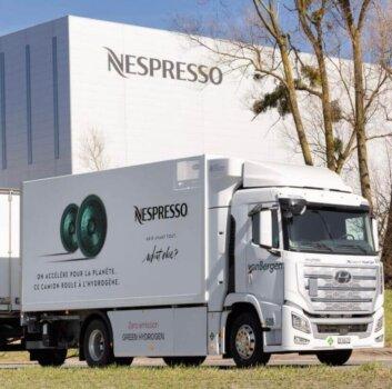 Nespresso, von Bergen collaborate on hydrogen-powered truck