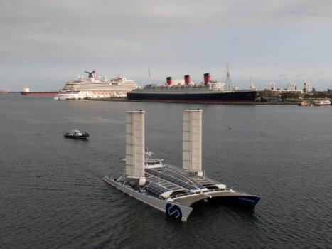 Energy Observer makes port at California's Long Beach