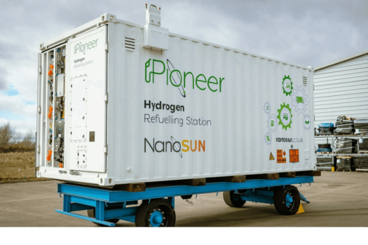 NanoSun presents mobile Pioneer hydrogen refuelling station at Madrid in Motion