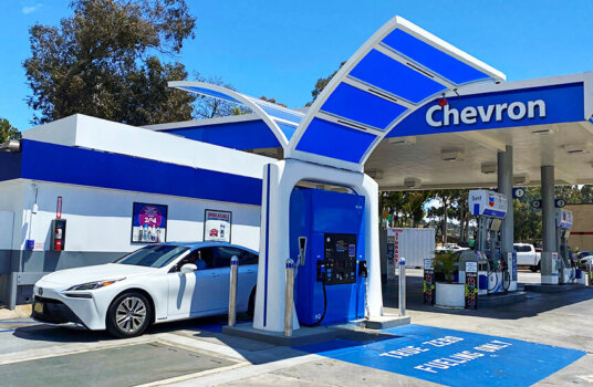 New California hydrogen station retailing at $13.14/kg