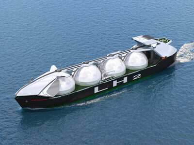 Kawasaki obtains AiP for world's largest containment for a liquefied hydrogen carrier