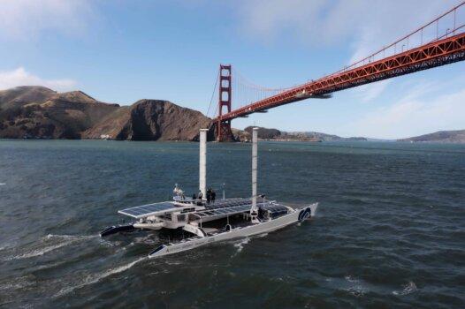 Energy Observer reaches San Francisco