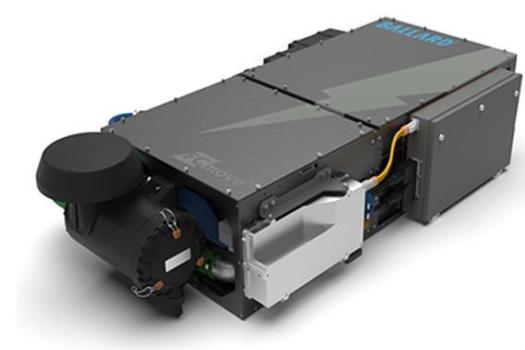 Ballard unveils zero emission fuel cell module