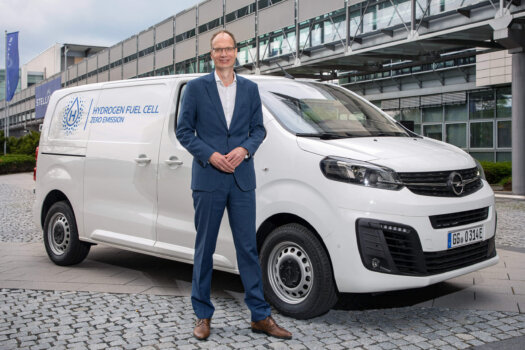 Opel unveils new fuel cell electric vehicle with a range of 400km