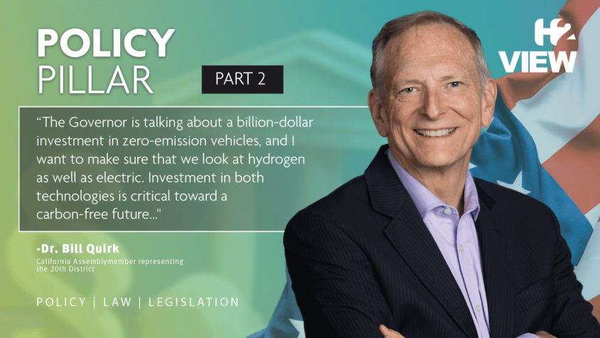The Policy Pillar – US: California's only scientist in state Legislature wants the government to pay more attention to hydrogen