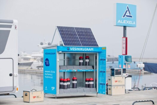 PowerUP Energy Technologies is leading Estonian innovation with its new hydrogen cabinet
