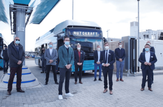 eFarm project enters final phase with delivery of two hydrogen buses