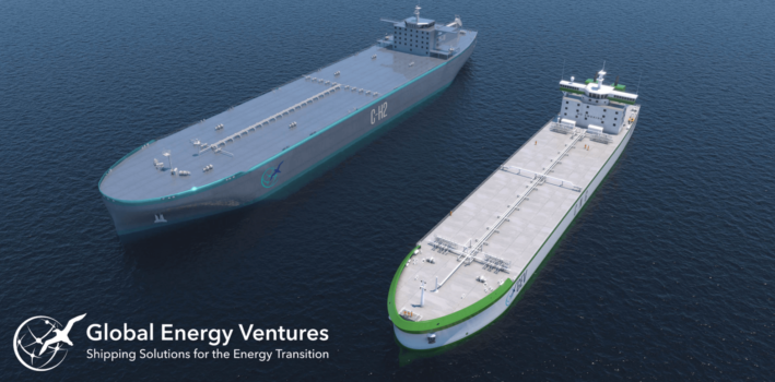 New vessel in development capable of transporting 430-tonnes of hydrogen