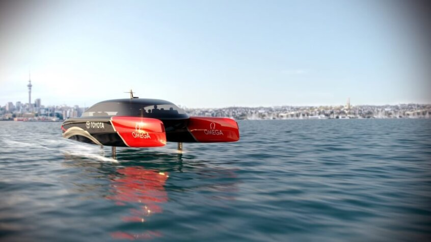Hydrogen-powered chase boats to race in the 37th America's Cup