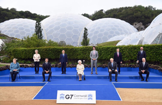 Climate leads G7 agenda