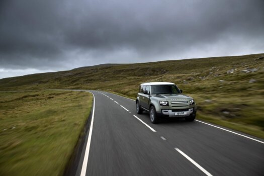 Land Rover unveils hydrogen-powered Defender; commits to zero tailpipe emissions by 2036