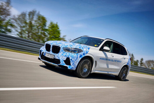 BMW trials i Hydrogen NEXT on European roads