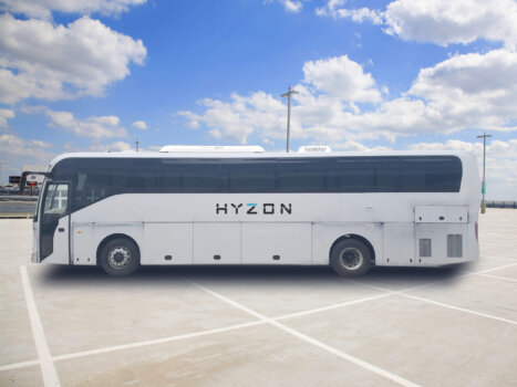 Hyzon Motors' hydrogen coach fleet ready for deployment in Australia; company to soon become publicly listed on Nasdaq