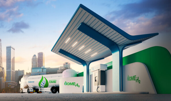 Renewable DME to hydrogen project receives funding from US Department of Energy