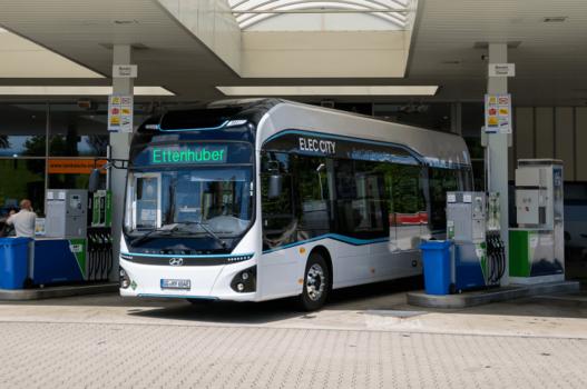 Hyundai trials fuel cell bus in Munich, Germany