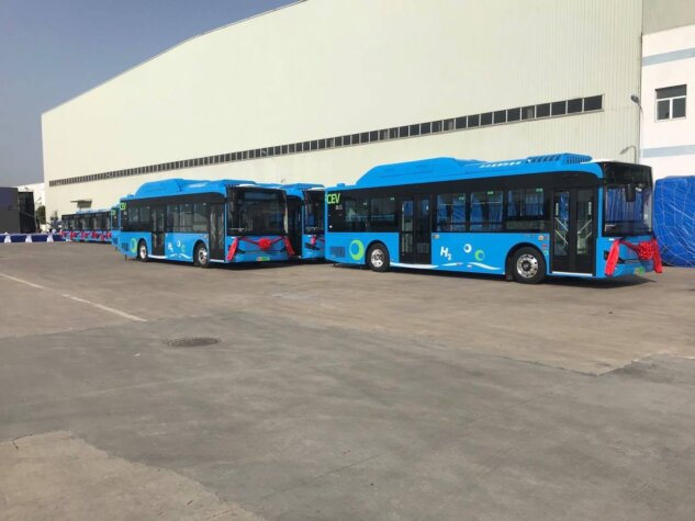 Chinese hydrogen bus fleet a success; records over 75,000 kilometres of operation