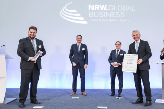 Enapter receives award for its NRW-based campus which is set to scale-up electrolyser productions