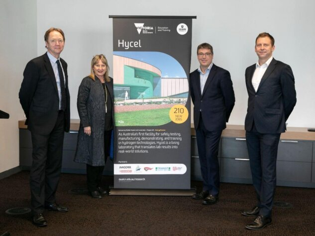 Victoria Government supporting Deakin University's fuel cell and hydrogen expansion