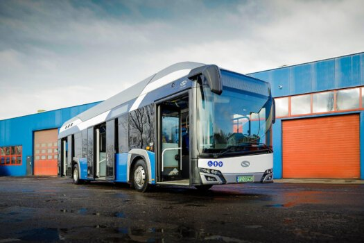 Hydrogen-powered bus set for the Polish city of Konin