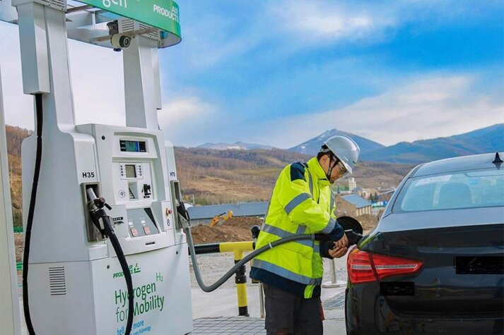Air Products commissions its first hydrogen station for the 2022 Winter Olympics