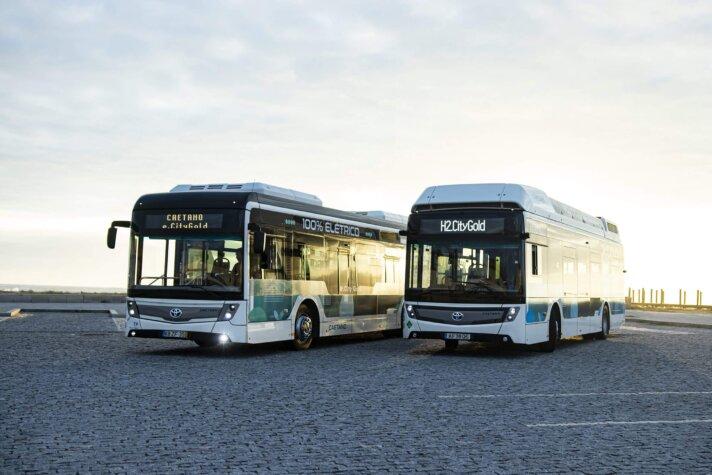 Toyota, CaetanoBus co-brand hydrogen buses