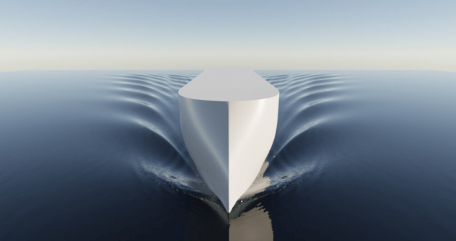 EDGE Navigation, Ulstein explore hydrogen to power a container vessel concept