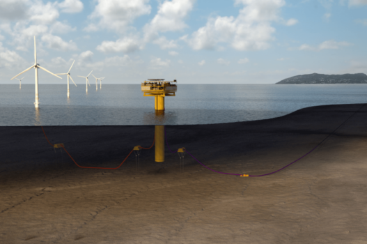 Conceptual study for green hydrogen production from offshore wind power to be explored in BEHYOND project