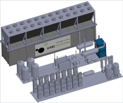 H-TEC Systems unveils 10megawatt PEM electrolyser
