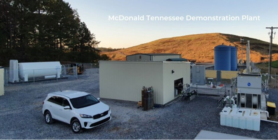 ReCarbon supporting H2Renewables with landfill gas to hydrogen projects