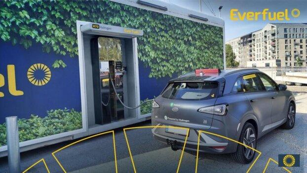Everfuel opens new high-capacity hydrogen refuelling station in Copenhagen