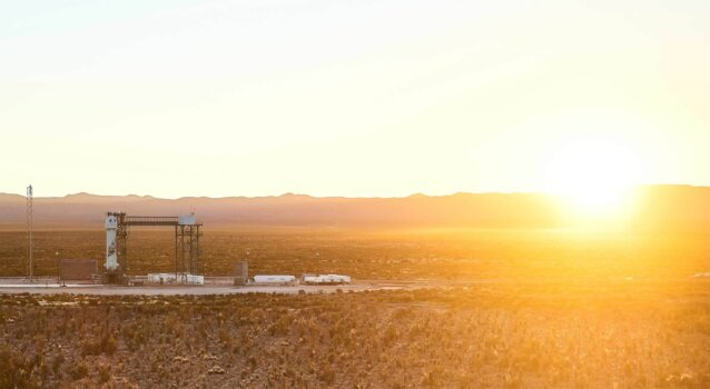 Liquid hydrogen blasts Jeff Bezos' New Shepard into space with low carbon emissions