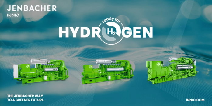 INNIO launches its 'Ready for H2' portfolio including 100% hydrogen powered engines