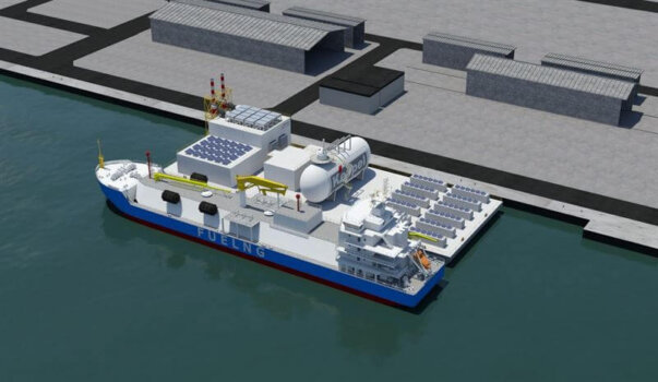 """Wärtsilä to provide hydrogen blend engine generating sets for """"Floating Living Lab"""" in Singapore"""