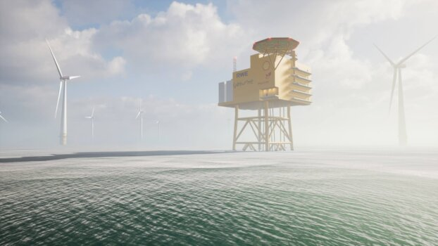 New study to explore the potential of Germany's first large-scale offshore green hydrogen park