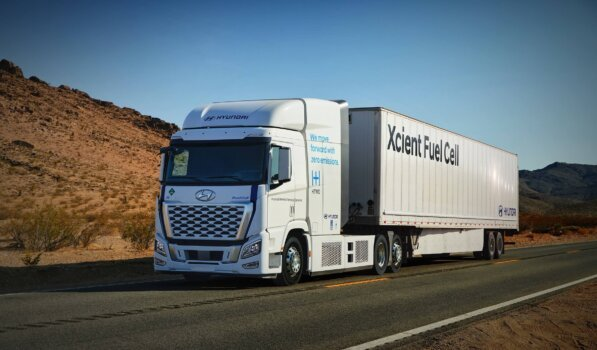Hyundai's XCIENT Fuel Cell set to hit Californian roads