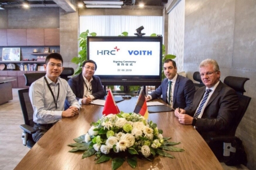 Voith Composites partners with HRC to develop hydrogen high pressure vessels