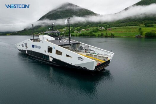 'World's first' liquid hydrogen-powered ship delivered